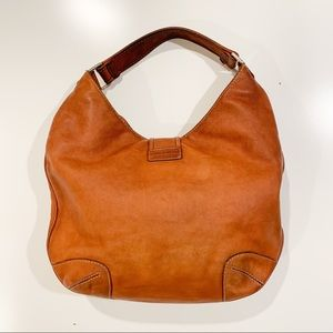 Michael Kors Bags - Michael Kors Leather Hobo Bag Camel